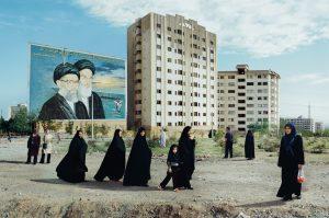 Photo of street see in Tehran 2006