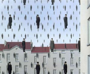 picture of men falling from the sky